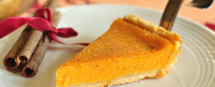 Cладкий пирог из тыквы