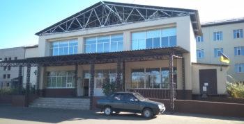В Изюмской ЦГБ ремонтируют приемное отделение больницы