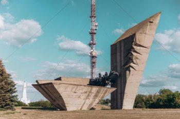 Гора Крем'янець в Ізюмі - Історія