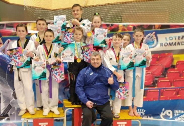 Победы тхэквондистов на чемпионате в г. Запорожье