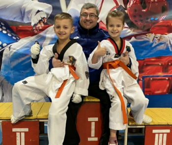 Victories of taekwondo athletes at the championship in Zaporozhye