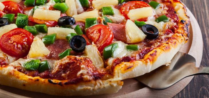 Пицца по-французски