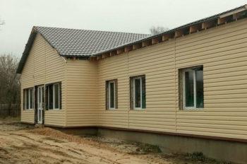 В селе Оскол достроят амбулаторию