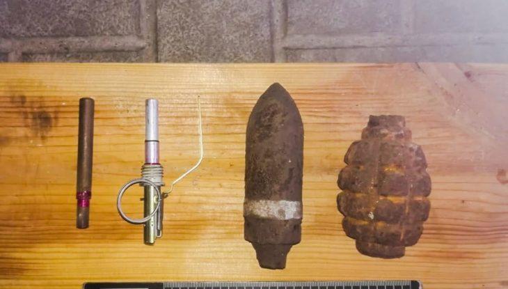 У мужчины из Изюма изъяли боеприпасы Второй мировой войны