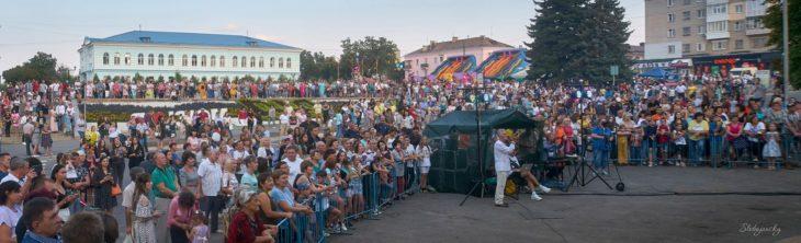 Концерт в День Независимости в городе Изюме - фото