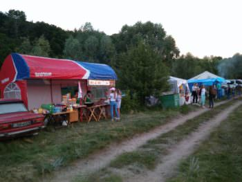 Как проходит Ивана Купала в селе Оскол на берегу реки (фото)
