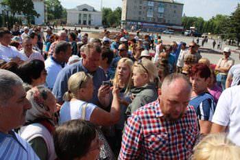 Замалчивание информации о поиске газовых месторождениях привело к бурной акции протеста изюмчан