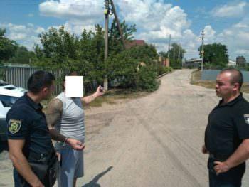 В Изюмском районе полицейские задержали рецидивиста