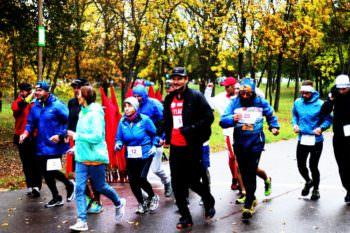 Житель Изюмского р-н. участвовал в международном ультрамарафоне в Беларуси