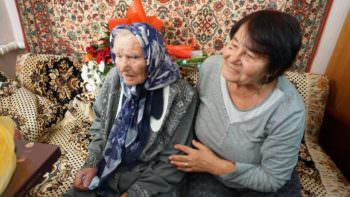 Жительница города Изюм отметила 100-летний юбилей