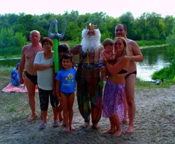 Удивительный отдых и путешествие на плоту по реке Северский Донец