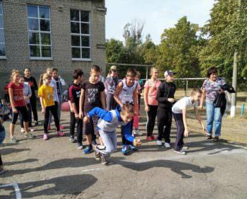 В Изюмских школах прошел день физической культуры и спорта