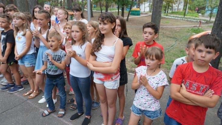 Закончилась вторая смена в детском заведении оздоровления и отдыха «Байдиківка»