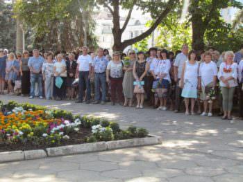 В Изюме отметили День Государственного Флага Украины