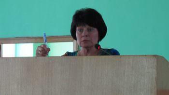 Начальник управления социальной защиты населения Изюмского городского совета Надежда Петрова