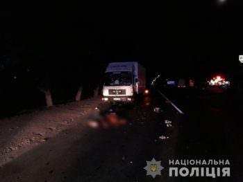 В Изюме грузовик насмерть сбил велосипедиста