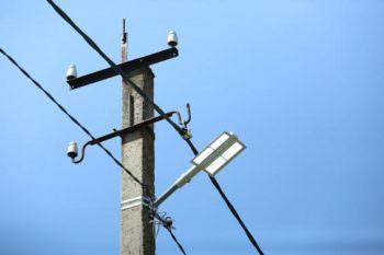 В Изюмском районе установили освещение в рамках проекта «Энергия света»