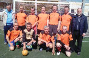 Изюмские ветераны «45+» приняли участие в турнире по мини-футболу