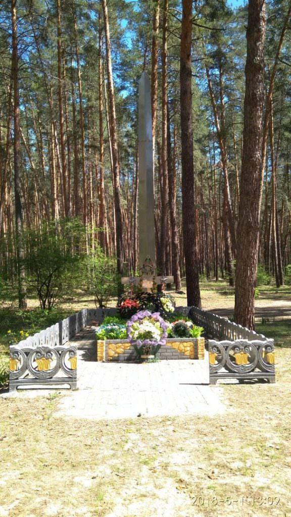 Братская могила воинов Второй мировой войны в селе Капитоловка
