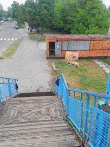 С 17 мая в Изюме закроют пешеходный мост