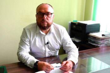 заместитель Изюмского городского головы В. В. Мацокин