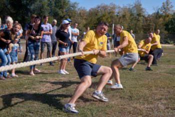 В субботу в Изюме прошёл пятый этап общегородской Спартакиады