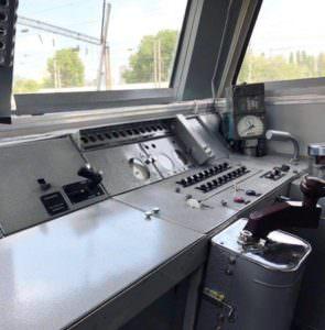 На маршруте Харьков—Изюм—Лиман курсирует модернизированный электропоезд
