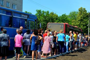 С Изюма дети отправились на летний отдых в ДУОО «Байдиківка»