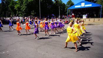 В Изюме отметили международный день защиты детей