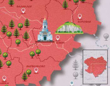 Город Изюм вошел в интерактивную туристическую карту Google