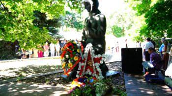 В Изюме почтили погибших во время Второй мировой войны в Украине