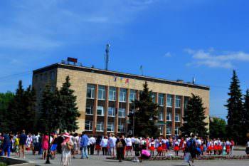 Всемирный День вышиванки на центральной площади города Изюм (фото)