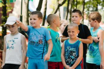 В Змиевском р-н от реконструируют детский лагерь. ДЕТИ