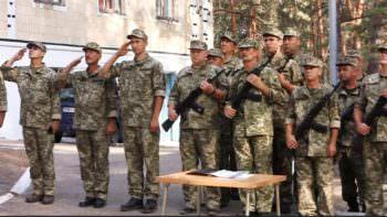 """Под Изюмом на базе ДУОО """"Байдиківка"""" стартовали военные сборы: Фото"""