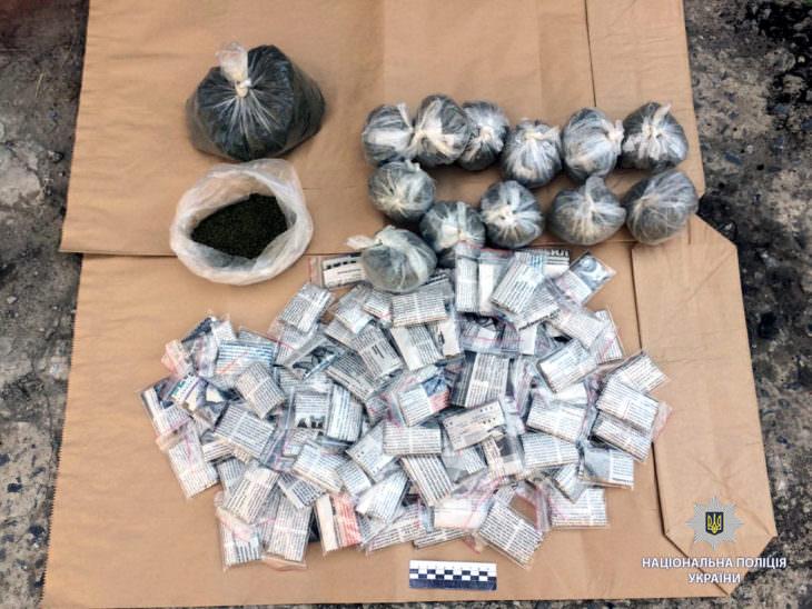 Полицейские Изюма задержали наркомана