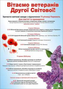 В Изюме 9 мая будет салют (план мероприятий)