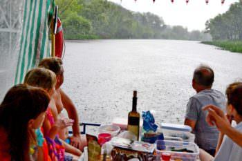 Отдых на реке в Изюме