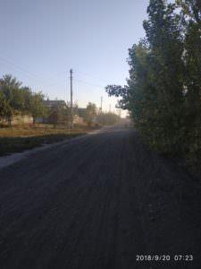 """Дорога до школы № 6 в Изюме после """"ремонта"""" стала невыносимой"""
